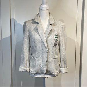BCBG girl fleece lined blazer